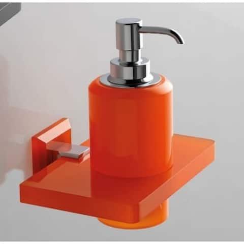 Nameeks G323 Toscanaluce Wall Mounted Soap Dispenser - Orange