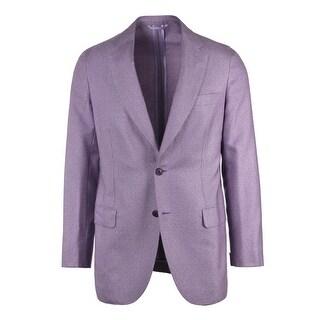 Brioni Men Two Button Purple Cashemere Jersey Piuma Sportcoat