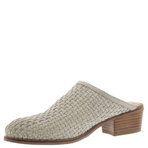 Very Volatile Womens Lacienega Leather Closed Toe Mules