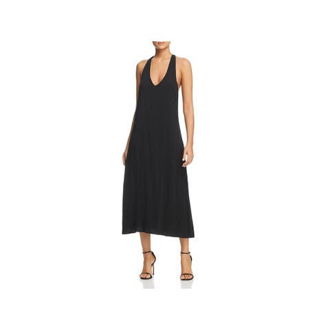 Kenneth Cole New York Womens Party Dress Twist Back V-Neck