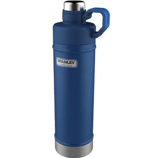 Stanley Classic 18oz. Vacuum Water Bottle-Hammertone Cobalt 10-02105-005