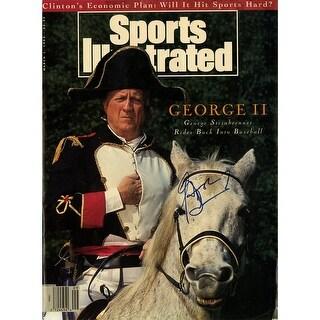 George Steinbrenner 1993 Sports Illustrated Magazine PSADNA