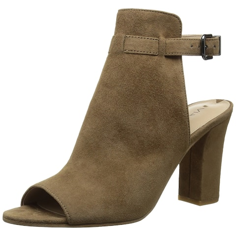 8c299403856c Via Spiga Womens Fabrizie Suede Open Toe Casual Mule Sandals