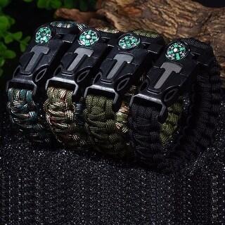 Paracord Survival Bracelet 2 PK