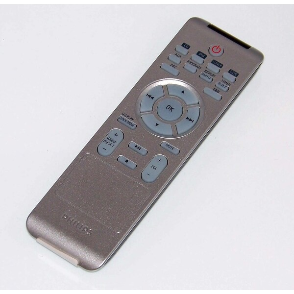 OEM Philips Remote Control Originally Shipped With MCM196D, MCM196D/37, MCM196D/37B