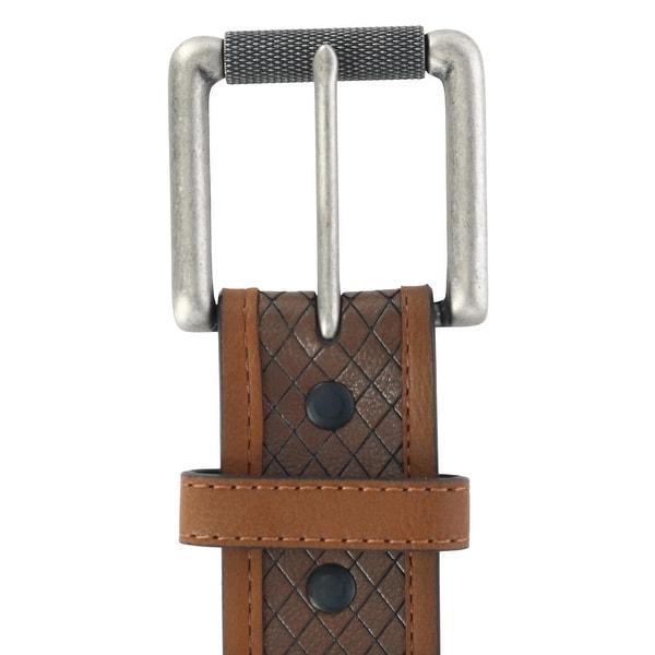 Danbury Mens Basic Leather Belt