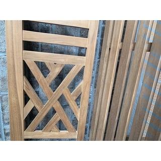 Cambridge Casual Isla 4-foot Teak Wood Patio Bench