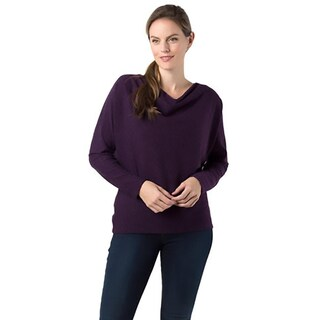 Annalee + Hope Womens Pullover Sweater Heathered Cowl Neck (More options available)