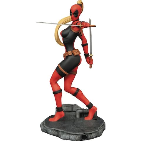 "Marvel 9"" Lady Deadpool PVC Statue"