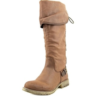 Dirty Laundry Rumplestilz Round Toe Synthetic Knee High Boot