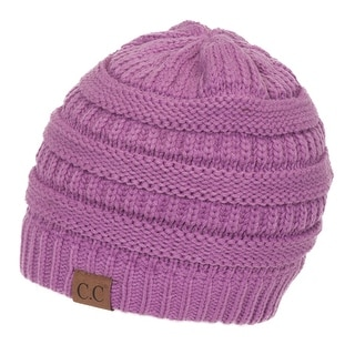 Gravity Threads CC Knit Soft Stretch Beanie Cap