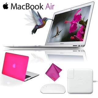 Apple 13.3 MacBook Air Newest Version Starter Bundle 128 GB - Pink