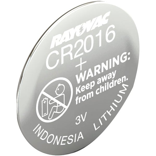 Rayovac Kecr2016-1C 3-Volt Lithium 2016 Keyless Entry Battery (Single)