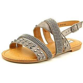 Not Rated Abbot Kinney Women Open-Toe Synthetic Gray Slingback Sandal
