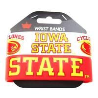 Iowa State Cyclones Rubber Wrist Band (Set of 2) NCAA