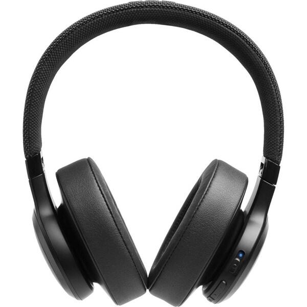 JBL LIVE 500BT Black Around-Ear Wireless Bluetooth Headphones. Opens flyout.