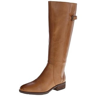 Sam Edelman Womens Patton 2 Riding Boots Leather Knee-High - 6.5 medium (b,m)