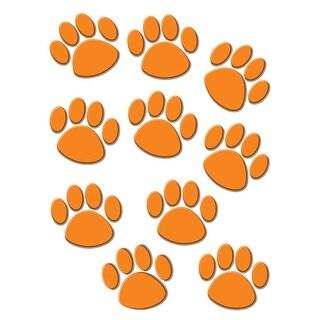 Orange Paw Print Accents 30 Pk