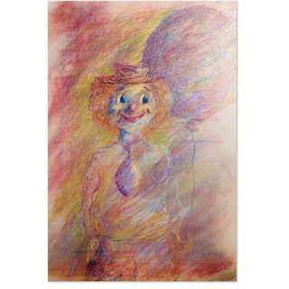 Soulepa, Unframed Lithograph- Happy