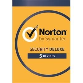 Symantec 21353874 Norton Security Deluxe 3.0 EN 1User 5Devices 12MO Card MM Retail
