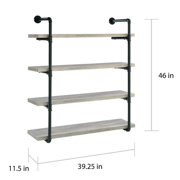 Carbon Loft Maltese 40-inch 4-shelf Wall Shelf