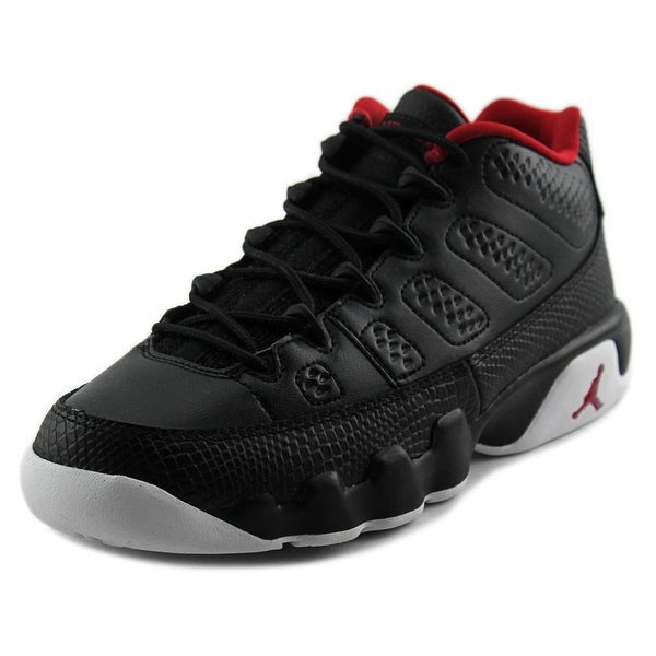 Jordan Air Jordan 9 Retro Youth Round Toe Synthetic Black Sneakers