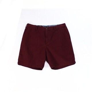 Nautica NEW Purple Men's Size 36 Khakis Chinos Classic Fit Shorts