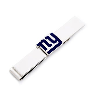 New York Giants Tie Bar - Silver