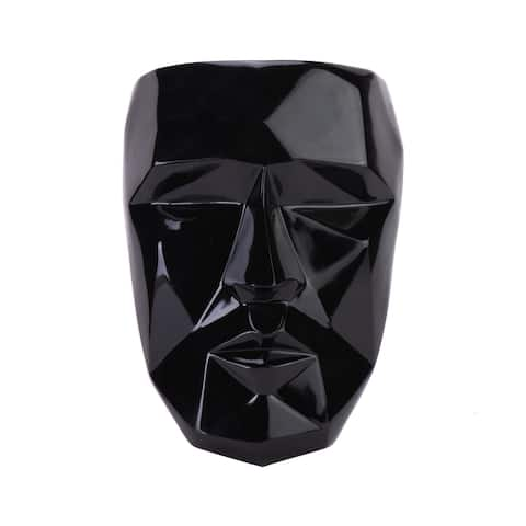 Finesse Decor Geometric Wall Mask // Black