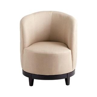 Cyan Design Korah Chair Korah 31.5 Inch Tall Wood Arm Chair - Tan