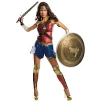 Dawn Of Justice Wonder Woman Grand Heritage Costume Adult - Red