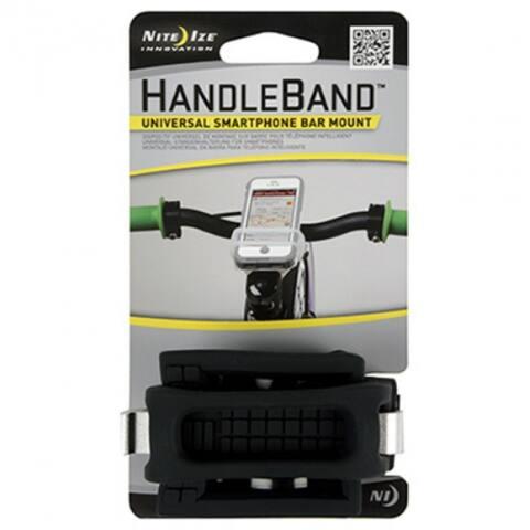 Nite Ize HDB-01-R3 HandleBand Universal Smartphone Bar Mount, Black