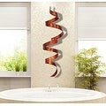 Statements2000 Copper Abstract Twist Metal Wall Art Sculpture Accent by Jon Allen - Copper Wall Twist - Thumbnail 5