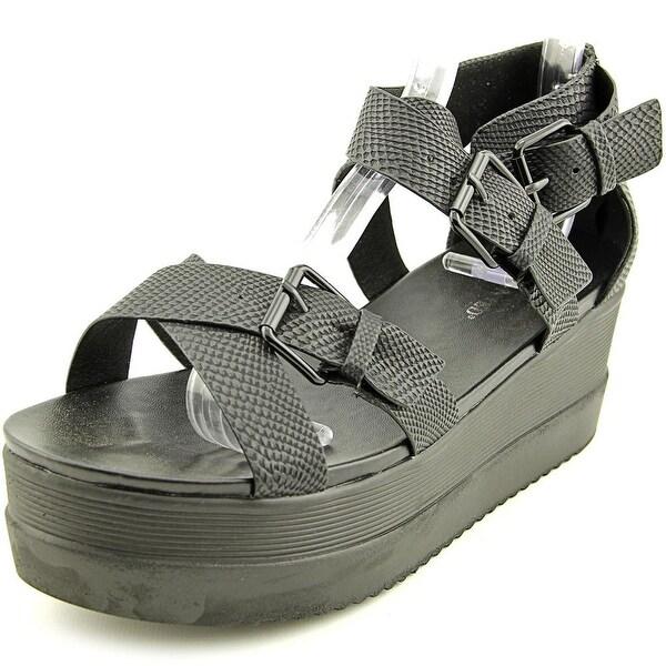 Wanted Twizzler Women Open Toe Synthetic Gladiator Sandal