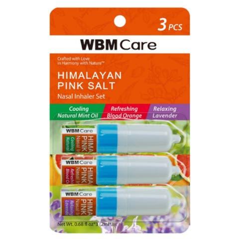 Natural Solution Nasal Inhaler (Blood Orange, Lavender, Mint) - Pack of 3