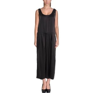Eileen Fisher Womens Tencel Sleeveless Jumpsuit