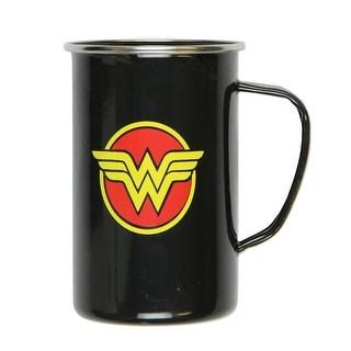 DC Comics Wonder Woman Logo 20oz Enamelware Mug