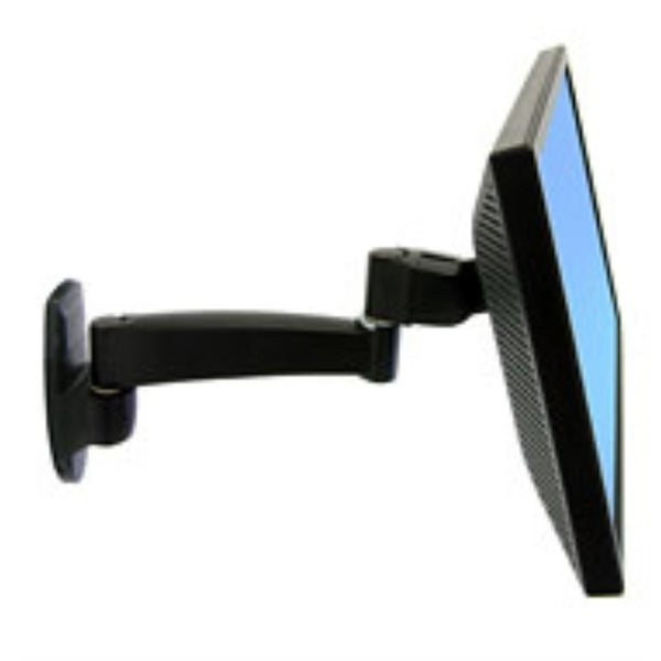 Ergotron - Ergotron 200 Series Wall Mount Monitor Arm,1 Extension.Provides A Sturdy Platfor