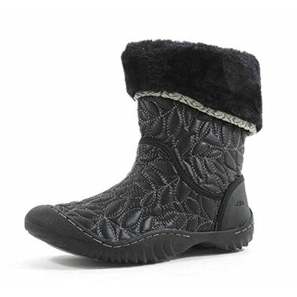 Jambu Womens Walnut Cap Toe Mid-Calf Fashion Boots