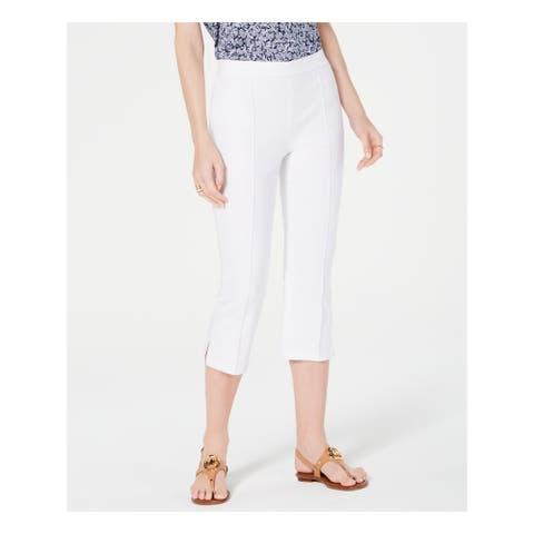 MICHAEL KORS Womens White Pants Size 8