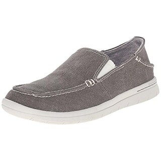 Dockers Mens Ravello Canvas Flat Loafers - 7 medium (b,m)
