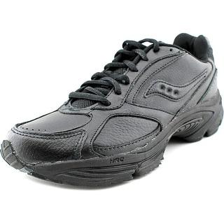 Saucony Grid Omni Walker   Round Toe Leather  Walking Shoe