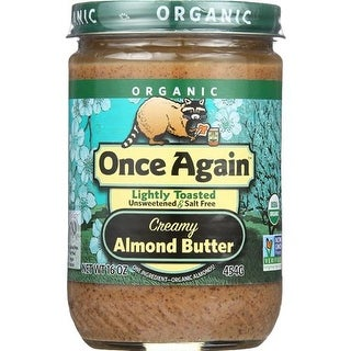 Once Again - Lite Toasted Smooth Almond Butter ( 12 - 16 OZ)