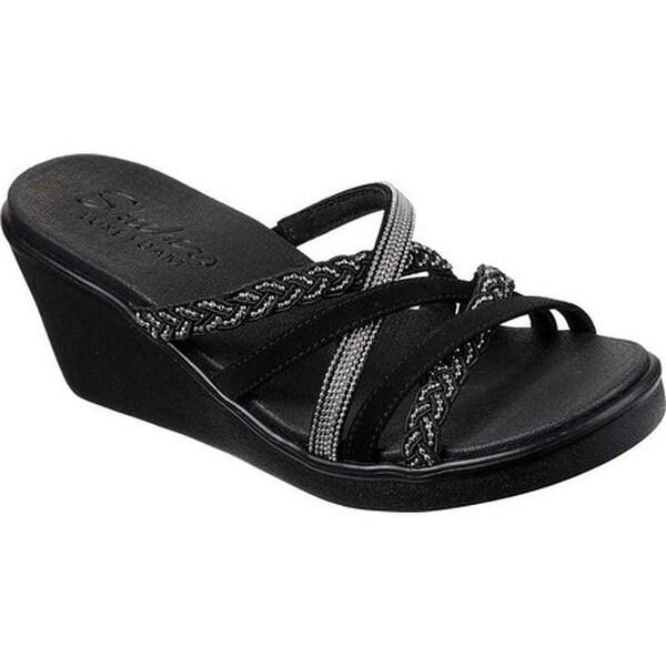 Skechers Cali Rumble Wedge Sandal Women's Shoes | DSW
