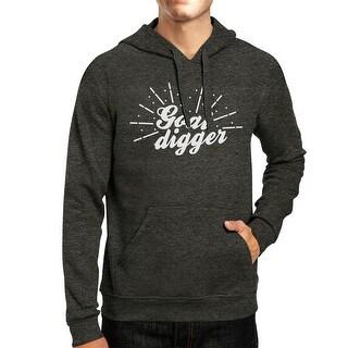 Goal Digger Unisex Cool Grey Pullover Hoodie Cute Hooded Sweatshirt