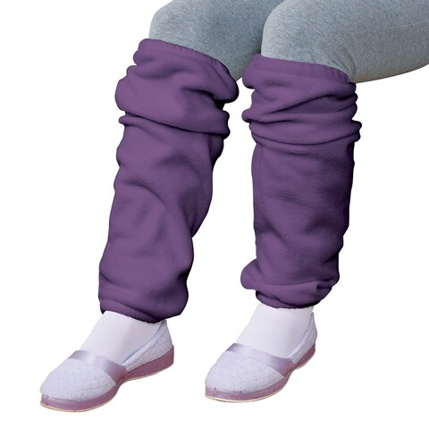 Women's Fleece Leg Warmers Queen - Large