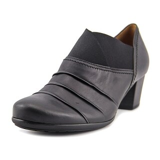 Gabor 55.462 Round Toe Leather Loafer