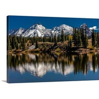Panoramic Images Premium Thick-Wrap Canvas entitled Mountains, Colorado
