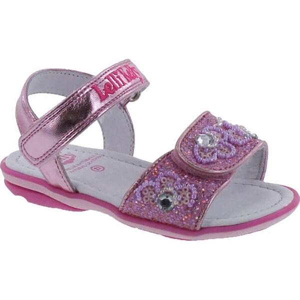 Lelli Kelly Girls Lk1401 Fun Fashion Sandals - Pink Glitter