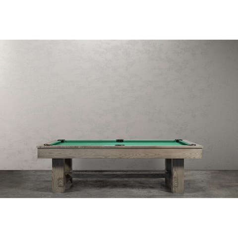 Rocky 8' Slate Pool Table w/Dining Top Option